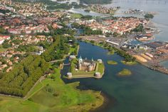 Kalmar from above