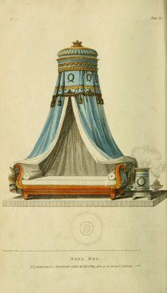Public Domain Images - Vintage Furniture Design Inspiration- Circa 1809