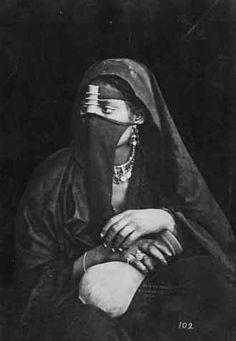 Africa | Portrait of an Egyptian woman. ca. 1875. © Dumas