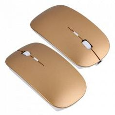 Gold Super Thin 2.4GHz USB Wireless Optical Mouse Mice for Laptop Computer PC.  See more Details about it, please click the link http://www.1topstore.com/en/gold-super-thin-24ghz-usb-wireless-optical-mouse-mice-for-laptop-computer-pc-p22166.html or the picture.