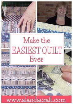 This is one of the easiest quilts you will ever make. NO binding and NO free motion quilting. Super easy for a beginner.