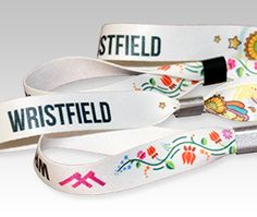 Fabric Wristbands - Festival Wrist bands with plastic self-closing tube - Custom Fabric | Wristbands24.co.uk