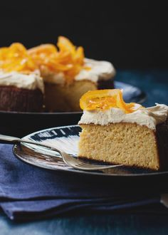 Flourless Orange Cake (A Table For Two)