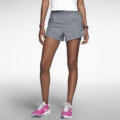 Nike Printed Woven Damen Tennisshorts
