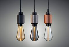 Buster + Punch Luanch World's First Designer LED Bulb - More beautiful lighting on http://www.stylingblog.nl