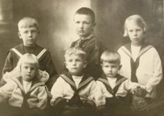 Vintage Children in MIddy Tops, The Middy: From Function to Fashion | The Vintage Traveler
