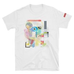Short-Sleeve Unisex T-Shirt Fabric Weights, Short Sleeves, Unisex, Cotton, Mens Tops, T Shirt, Fashion, Supreme T Shirt, Moda