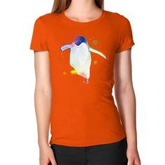 Psychedelic Penguin Women's T-Shirt