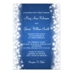 ShoppingElegant Wedding Magic Sparkle Blue Personalized Invitationlowest price for you. In addition you can compare price with another store and read helpful reviews. Buy