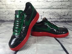 buy online cf80f 71df8 Custom Painted Nike Air Force 1 s (RBG Style  1) Size 9.5