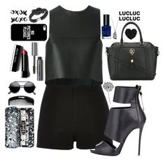 """NO PICTURES PLEASE"" by valentinadelaserna ❤ liked on Polyvore featuring River Island, Fendi, Bobbi Brown Cosmetics, Armani Jeans, Giuseppe Zanotti, Swarovski, Proenza Schouler, Casetify, jcp and Betsey Johnson"