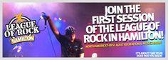 Hamilton Grownups Who Rock!  www.LeagueOfRock.com Live Music, Good Music, Team Building Events, Hamilton, Growing Up, Rock, Stone, Grow Taller, Rock Music