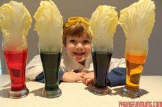How plants absorb water science experiment! Kid Science, Water Science Experiments, Science Activities, Activities For Kids, Science Ideas, Plant Science, Science Chemistry, Kindergarten Science, Baby Food Jars