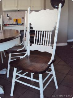 New Ideas Refinishing Furniture Dining Chair Makeover Furniture Fix, Refurbished Furniture, Repurposed Furniture, Furniture Projects, Rustic Furniture, Furniture Makeover, Painted Furniture, Hutch Makeover, Colorful Furniture