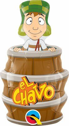 14 Inch El Chavo del Ocho Balloon by J4P. $4.99. air or helium fill. 14 Inch El Chavo del Ocho Balloon - 10 Pack