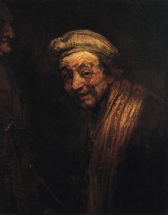Rembrandt van Rijn, Self-portrait as Zeuxis Laughing (1662); Wallraf-Richartz-Museum, Cologne.