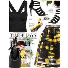 Print skirt
