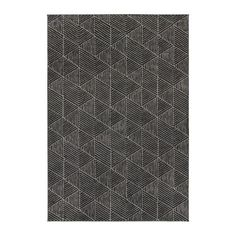 "STENLILLE Rug, low pile, gray 6' 7"" x 9' 10"" May be too dark but dimensions are good for upper LR floor"