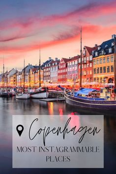 This contains: Copenhagen has some remarkable photo spots, if you are planning a short trip to Copenhagen and you want to find the insta-worthy places, I've put together the ultimate photo guide for you to make the most of your Copenhagen city break. Copenhagen Denmark | Copenhagen city break | Copenhagen instagrammable | Copenhagen places Copenhagen City, Copenhagen Travel, Copenhagen Denmark, Europe Travel Guide, Travel Deals, Travel Guides, Travel List, Places To Travel, Travel Destinations