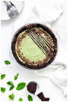 Dairy Free Recipes, Baking Recipes, Whole Food Recipes, Vegan Recipes, Mint Desserts, Cute Desserts, Paleo Chocolate, Mint Chocolate, Delicious Cookie Recipes