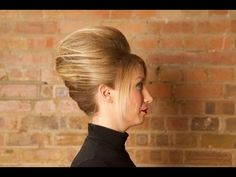 Hair: Dominika's French Twist for Short Hair Tutorial - BBC Three Bbc Three, Pretty Hairstyles, Healthy Hair, Curls, Short Hair Styles, Bing Video, French, Hair Tutorials, My Style