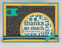 Stampin Up, #thecraftythinker.com.au, A world of thanks, masculine card, Just Add Ink