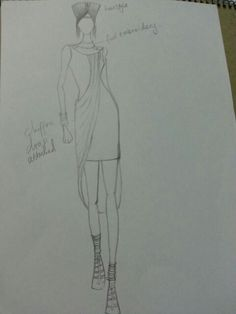 Sketches for the emerging designers  swahili fashion 2014
