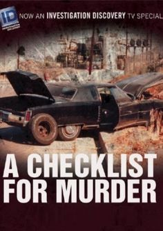 a checklist for murder investigation discovery - Google Search