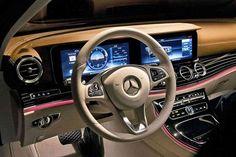Консоль нового  Mercedes-Benz седана E-Class 2016
