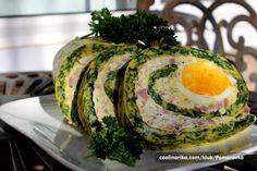 Rolat je veoma lako napraviti i idealan je za predjelo ili večeru...takođe ga možete napraviti i posle Uskrsa, kad imate puno kuvanih jaja i ne znate šta ćete sa svim tim kuvanim jajima.