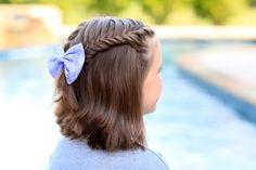 Прически на короткие волосы в школу для девочек