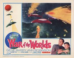 Lobby Card from the film War Of The Worlds