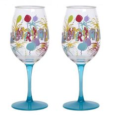 Birthday Bash Acrylic Lolita Wine Glass Set ... Just bought these for a friend who had her birthday last weekend & included some wine mix.  Great go to bday gift!