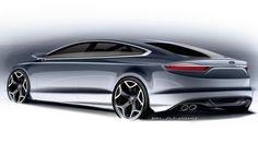 Ford Fusion Sketch