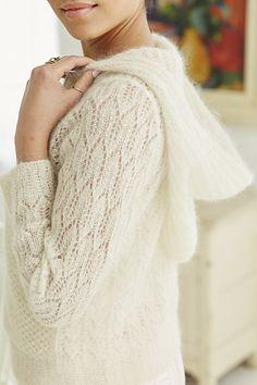 Lace Hoodie pattern by Brooke Nico