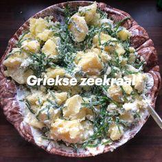 Een makkelijk en gezond gerecht voor de maand april Potato Salad, Potatoes, Chicken, Meat, Ethnic Recipes, Food, Potato, Essen, Meals