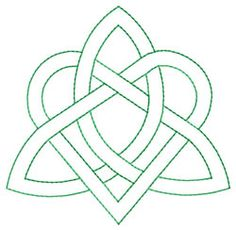 Celtic Knot embroidery design @Natasha Howard : I just found this and thought about Ava's dress - would be cute instead of applique shamrock if you went all #irish #celtic :P justsayin