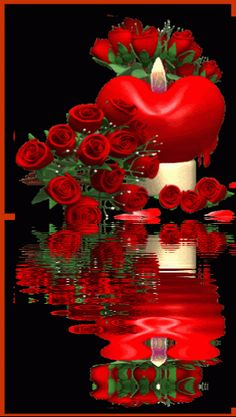 The perfect Rose Hearts Love Animated GIF for your conversation. Discover and Share the best GIFs on Tenor. Happy Birthday Ballons, Happy Birthday Flower, Love You Gif, Love You Images, Beautiful Love Pictures, Beautiful Gif, Gif Bonito, Rose Flower Wallpaper, Happy Anniversary Wishes