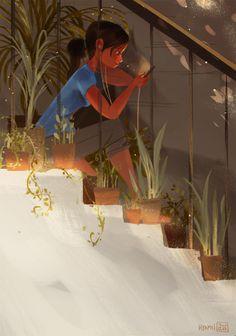 The Art Of Animation, hyamei -  Abigail L. Dela Cruz