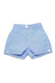 These pinstripe shorts for girls are insanely adorable. They come in 3 colors.