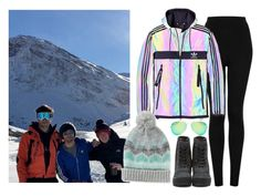 """""""Skiing with Louis: French Alps - 04 January 2016"""" by thisistheend ❤ liked on Polyvore featuring Topshop, adidas, Ray-Ban, adidas Originals and Aéropostale"""