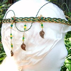 Emerald Celtic Irish Wedding Circlet Tiara the por PernCirclets