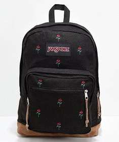 JanSport Right Pack Expressions Embroidered Roses Backpack 47ccf34cc67c7