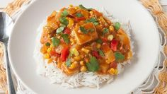 This Slow Cooker Tofu Curry is a restaurant-quality dish made so easily at home!
