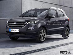 2017 Ford EcoSport (facelift) - Rendering by Shoeb R Kalania IAB's graphic artist My Dream Car, Dream Cars, Arm Lift, Ford Ecosport, Car Hd, Body Contouring, Liposuction, Life Inspiration, Plastic Surgery