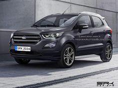 2017 #Ford #EcoSport (facelift) - #Rendering