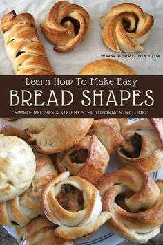 Simple easy bread dough recipe for dinner or lunch. Also includes shaping techniques. It's an easy, simple Healthy Homemade Bread, Easy Homemade Recipes, Healthy Breakfast For Kids, Healthy Kids, Breakfast Ideas, Bread Dough Recipe, Bread Shaping, Bakery Recipes, Bread Recipes