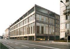 Hauptsitz Swiss Re, Zürich 2009, Peter Märkli