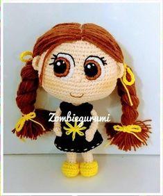 Crochet Doll Pattern, Crochet Dolls, Crochet Patterns, Crochet Home, Love Crochet, Patron Crochet, Doll Tutorial, Amigurumi Doll, Yarn Crafts