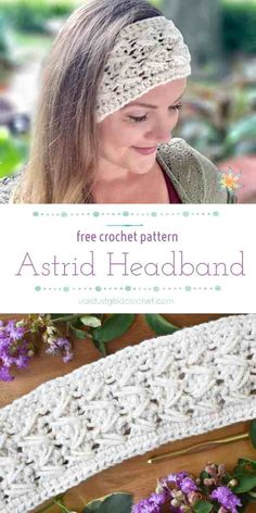 The Astrid Headband is a free crochet pattern created with the maker in mind Beginner friendly uses less than a skein of yarn Includes full written pattern with video tutorial astridheadband stardustgoldcrochet freecrochetpatterns freecrochetheadband Crochet Beanie, Knit Crochet, Crochet Hats, Crochet Geek, Beginner Crochet, All Free Crochet, Crochet Ear Warmer Pattern, Easy Crochet Patterns, Crochet Ear Warmers